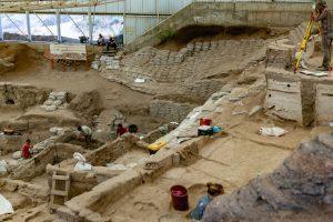 rcheologen onderzoek